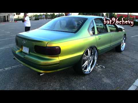96 Caprice on Forgi 26's & 96 Impala SS on DUB 28's. GAMECOCKS Stadium - 1080p HD