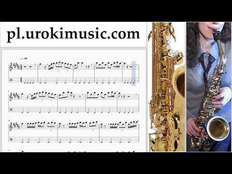 Nauka Gry Na Saksofonie (Altowy) Luis Fonsi - Despacito Nuty Poradnik Część 2 Um-a463