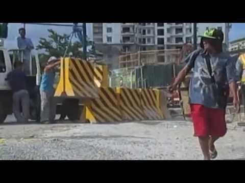 On May 6 (Monday), government agency Bases Conversion Development Authority (BCDA) CEO Arnel Casanova went at the site of SM Aura, a new shopping mall that i...