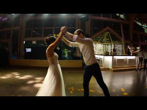 "Our first dance inspired by Ed Sheeran's ""Thinking out loud"" Audio"