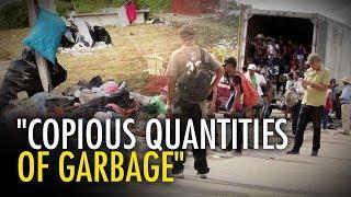 Caravan UPDATE: Migrants leave trail of garbage