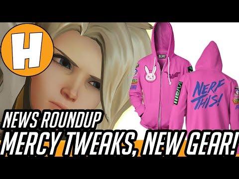 Overwatch - Mercy Rez Tweak, New Gear! [News Roundup]   Hammeh