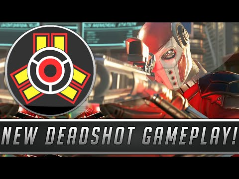 Injustice 2: New Deadshot Gameplay Revealed - Combos, Super Move, Dialogue & More! (Gamescom 2016)