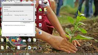 how to change date and time in windows 7,8,8.1