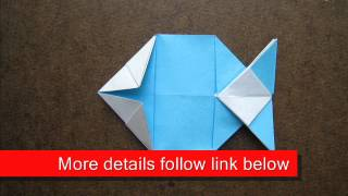How To Make An Origami Pattern Fish
