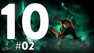 VAINGLORY TOP 10 🔸 EPIC 1v3  OUTPLAYS + 2 UNBELIEVABLE BACKDOORS!?!?!? 😎😎😎