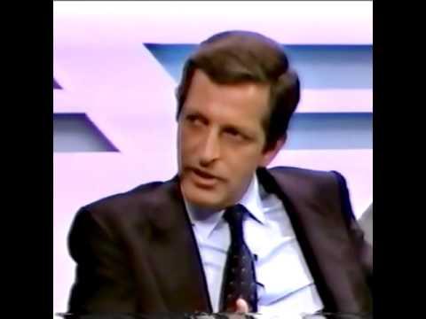 Adolfo Suárez en TVG en 1986