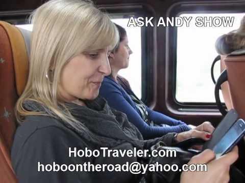 Talk On Bus Tatjana Manojlović of Serbia Television RTS Radio-televizija Srbije