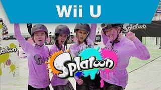 Wii U - Splatoon Mess Fest