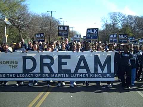USAA Marches in San Antonio's MLK March for first time!
