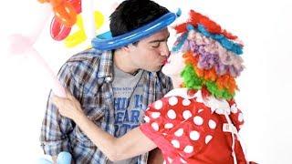 People Afraid of Clowns Kiss Clowns