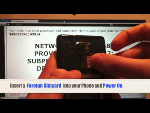 Unlock Galaxy S2 Skyrocket   How to Unlock Samsung Galaxy S II 2 Skyrocket i727 from At&t by ...