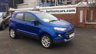Ford Ecosport Titanium Winter Pack (2017)