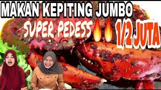Review KEPITING SITUNGKU RAJA| Kepiting JUMBO PEDES GILA | Mukbang Sister