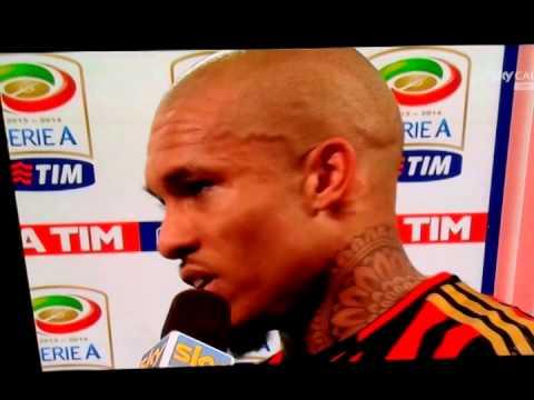 Intervista a Nigel De Jong Milan-Inter