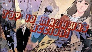 Top 10! Manhwas acción!