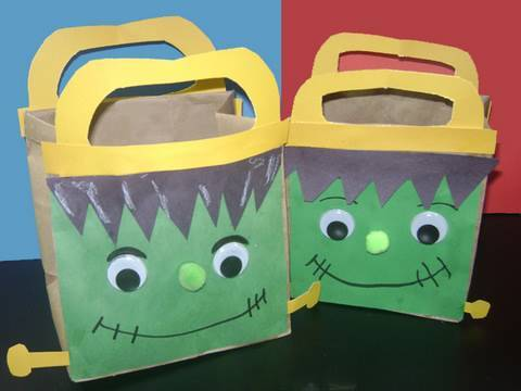 Easy kids Crafts: Cute Picnic bag