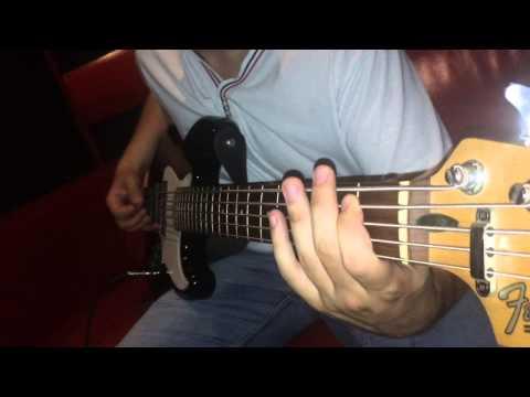 партии на бас гитаре без