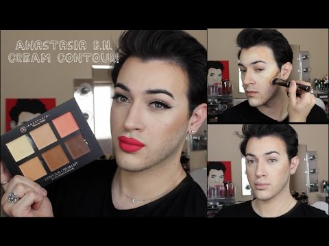Anastasia Beverly Hills Cream Contour Kit Review/ Demo!   MannyMua