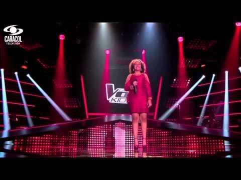 Yuliana cantó 'Santa Bárbara'de Celina González– LVK Colombia – Audiciones a ciegas – T1