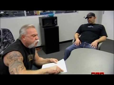 American Chopper: Jr. Vs. Sr. fight staged???