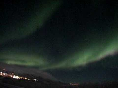 Northern Lights Movie(Not Slide Show) real time