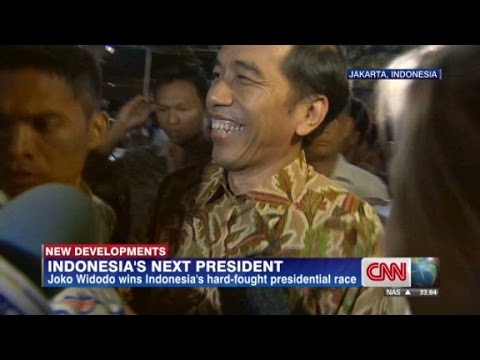 Joko Widodo won Indonesia\'s hard-fought presidential race. CNN\'s Anna Coren reports.