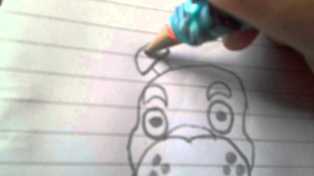 Freddy faz bear drawing youtube
