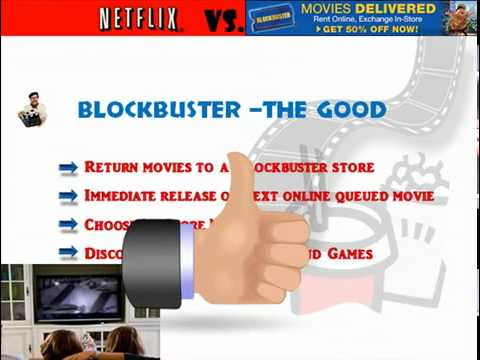 Netflix vs.Blockbuster