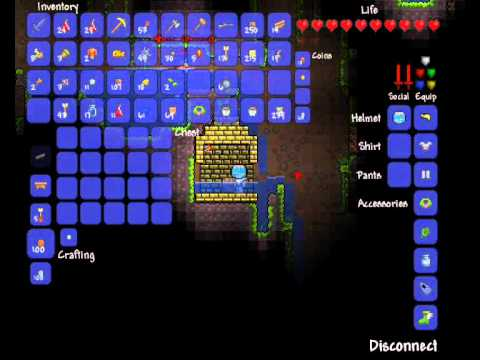 Terraria - Exploring the Underground Jungle - Attempt 1