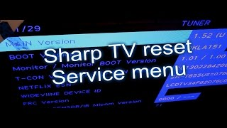 3 ways to reset TVs, Sharp TV fix review