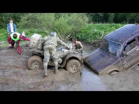 Niva VS Toyota Land cruiser  