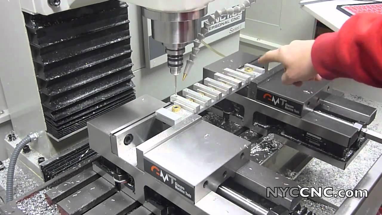 Cnc Drilling Fixture : Tormach pcnc milling aluminum with a custom fixture