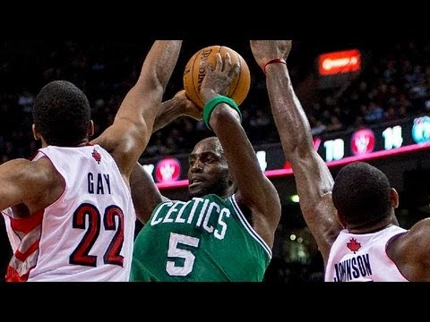 Kevin Garnett 27 points - Highlights vs Toronto Raptors 2/6/2013