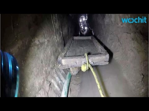 Discovery of Major Underwater Tunnel Across U.S.-Mexico Border