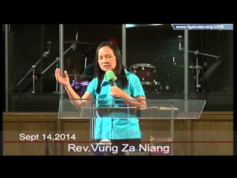 [FGATulsa]#1046#Sept 14,2014 English Service(Pastor Vung Niang)