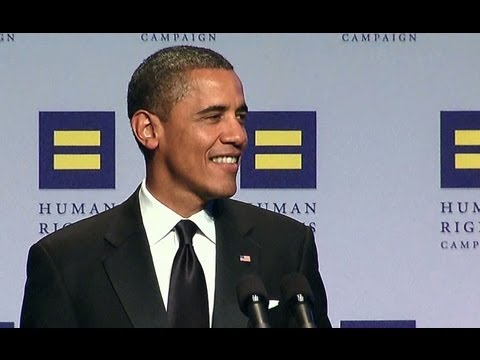 President Obama Delivers Remarks at the HRC