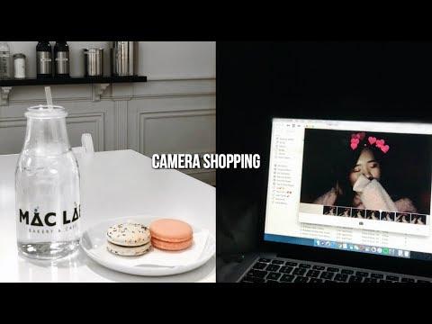 camera shopping and yummy food