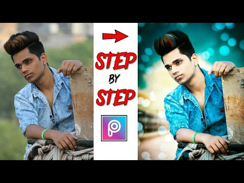 NEW Picsart Editing Tutorial 2018 || Step By Step Photo Editing in Picsart || Picsart CB Edit