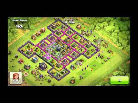 Clash of Clans - Best Farming Troop Combo. Episode 3 - Minions Aren't