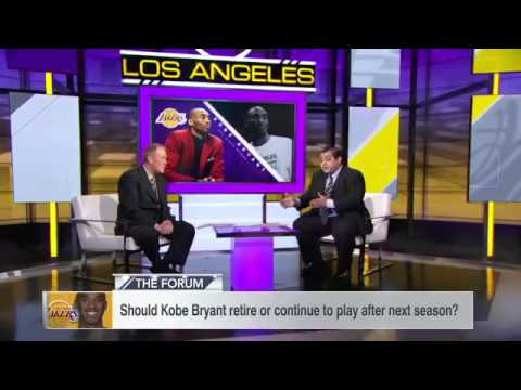 Kobe Bryant of Los Angeles Lakers never thought about retiring after shoulder injury NBA 2015