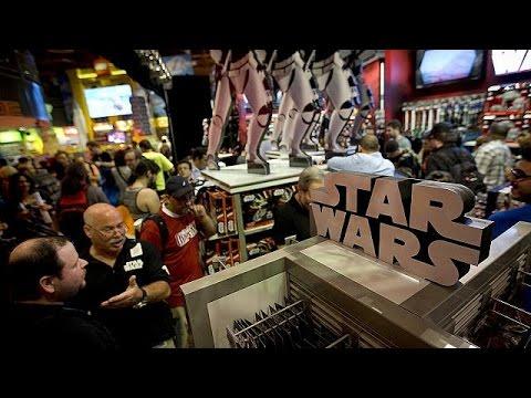 L'empire Disney commercialise déjà les produits Star Wars VII - economy