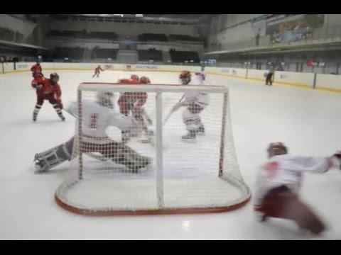 TOP-10 saves. Вратарские сейвы ОПМ'14/15. Детский хоккей (2003 г.р.)