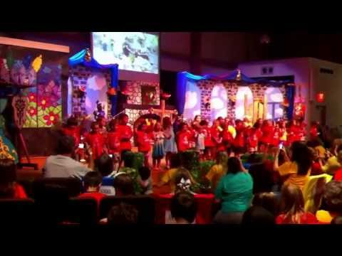Emma's Group Performance For Vacation Bible School- Stand Strong. video