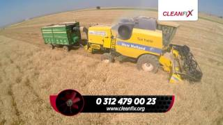 Cleanfix otomatik radyatör temizleyen fan New Holland TC5070