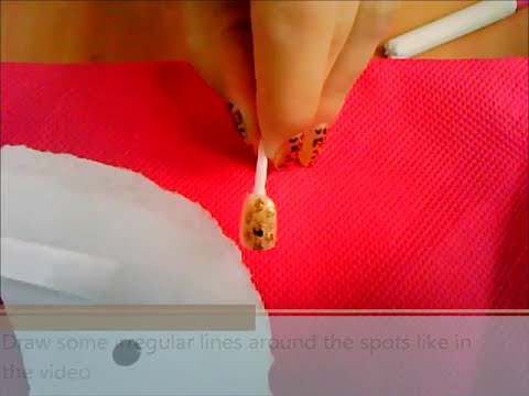 gold LEOPARD PRINT nail art tutorial // uñas de LEOPARDO en dorado, tutorial (by Navy In Love)  ♥