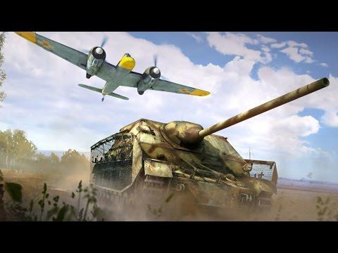 Танки - Реалистичный режим - War Thunder. Обучение, часть 16