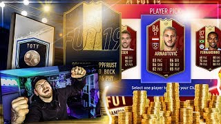 Meine WEEKEND LEAGUE Rewards + 100K TOTY LIGHTNING ROUND 🔥😱 FIFA 19