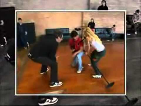 Ashley Tisdale and Zac Efron - HSM Rehearsal