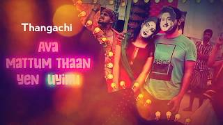 Thangachi song  Raksha Banthan  Whatsapp status  t